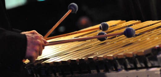Mike Freeman Hands Mallets Vibraphone Bars Banner