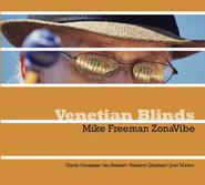 Mike Freeman Venetian Blinds CD Cover
